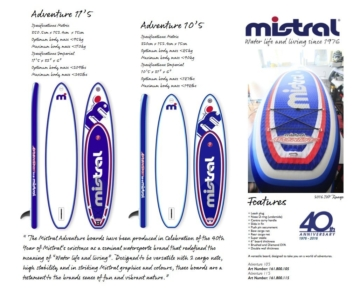 Mistral Allround Adventure sup board kaufen
