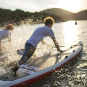Red Paddle 12'6 Race board