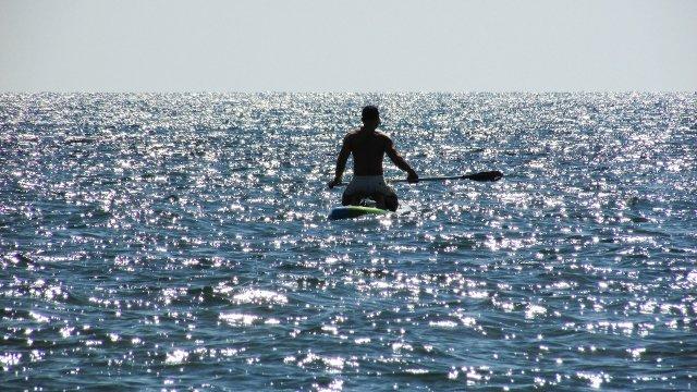 stand up paddling wie schwer