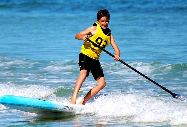 wie schwer ist stand up paddling