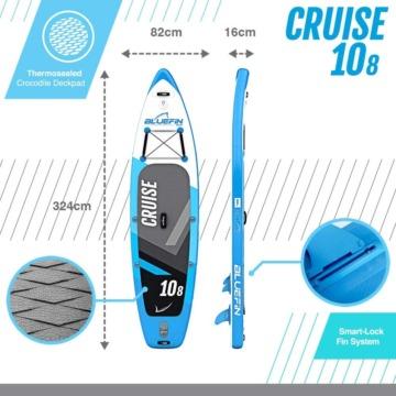 bluefin cruise 10 8 sup board