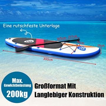 GoPlus Kajak 300 cm SUP board
