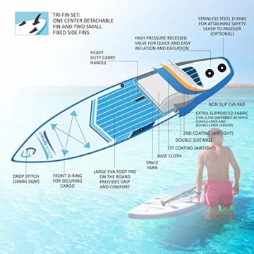 Aqua Spirit 300 cm stand up board