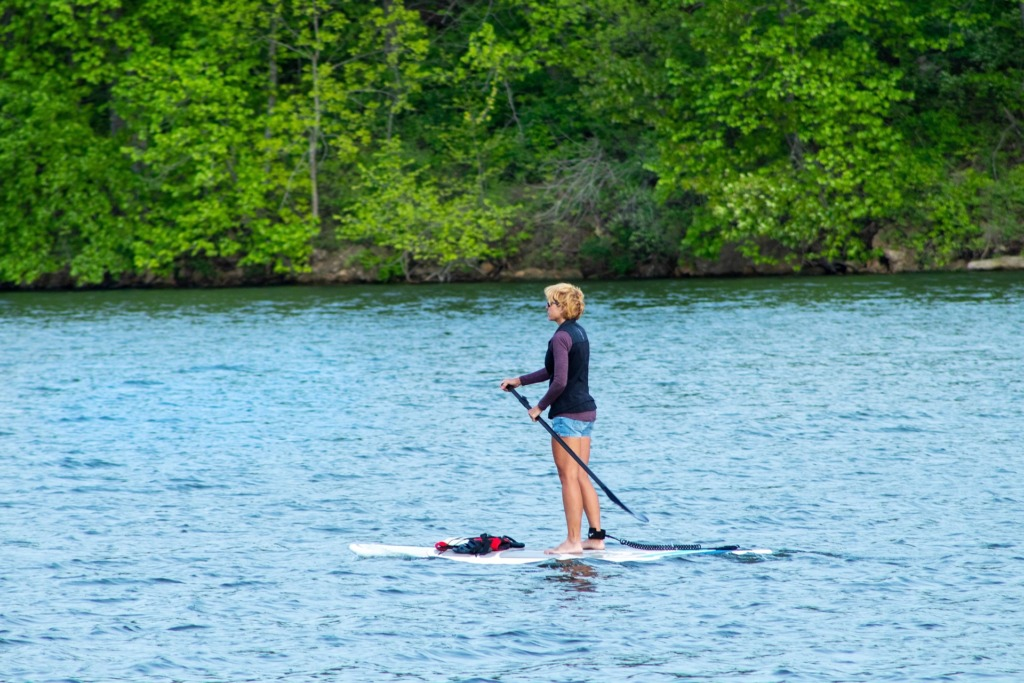 Gesundheitliche Vorteile Stand up paddling