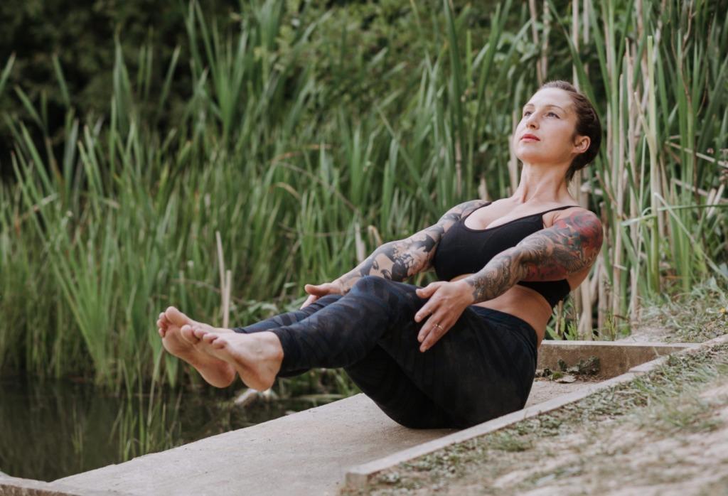 SUP Training Körpermitte